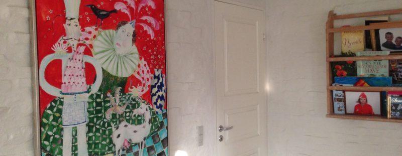 Rustik mur males, maler sønderborg, maler Gråsten