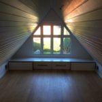 Yoga-rum malet, maler Sønderborg