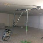 Afslibning af spartlet loft, maler Sønderborg