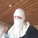Personlig afdækning under sprøjtemaling af loft, Maler Sønderborg